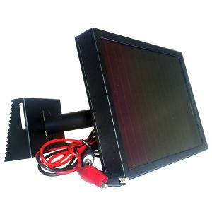 SpyPoint SP-12V Solar Panel Black