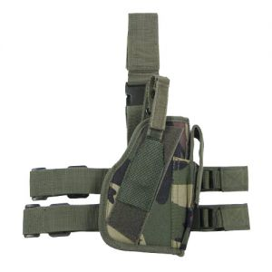 MFH Right Leg Holster Woodland
