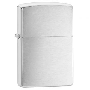 Zippo Brushed Chrome Regular Lighter
