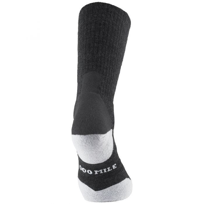 1000 Mile Fusion Services Sock Charcoal