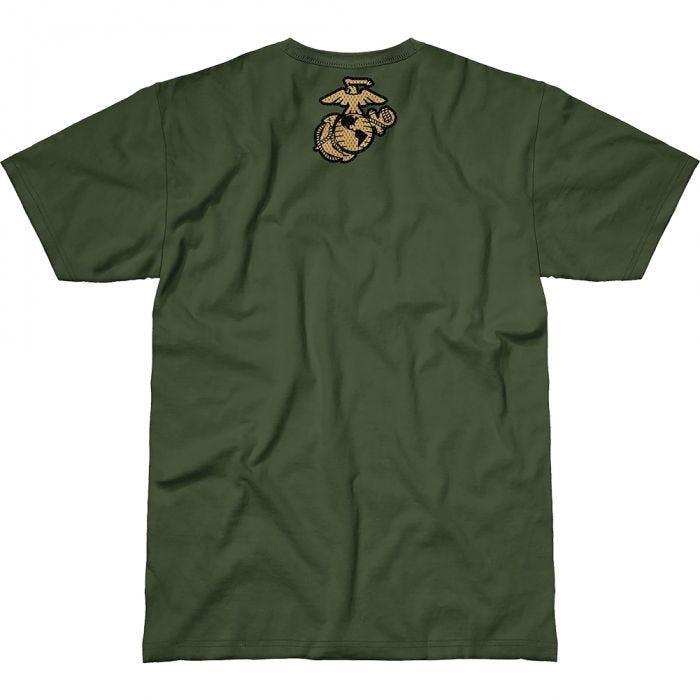 7.62 Design USMC Warriors T-Shirt Military Green