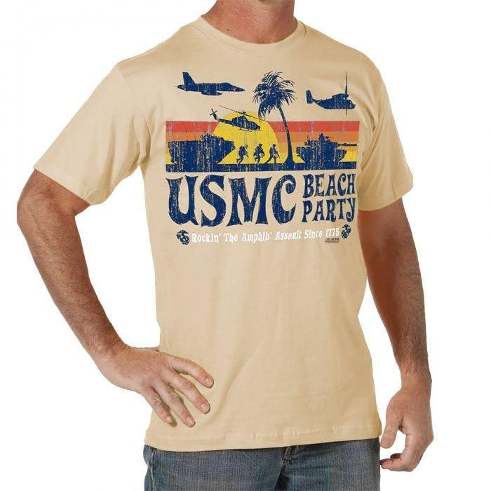 7.62 Design USMC Beach Party T-Shirt Sand