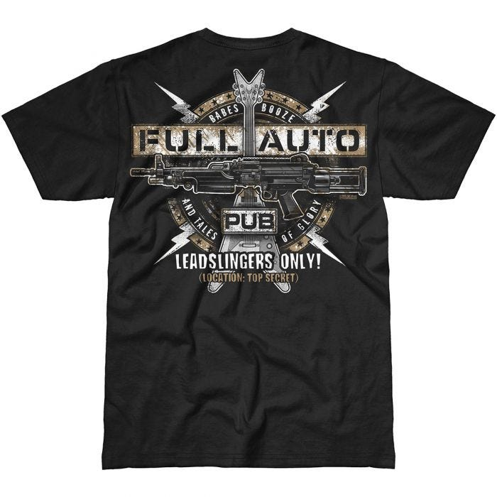 7.62 Design Full-Auto Pub T-Shirt Black