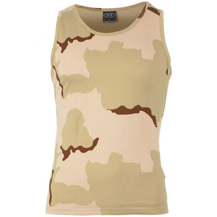 MFH Vest 3-Colour Desert