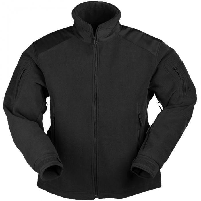 Mil-Tec Delta Fleece Jacket Black