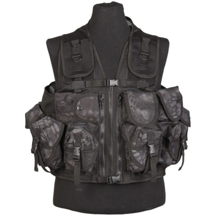 Mil-Tec Ultimate Assault Vest Mandra Night