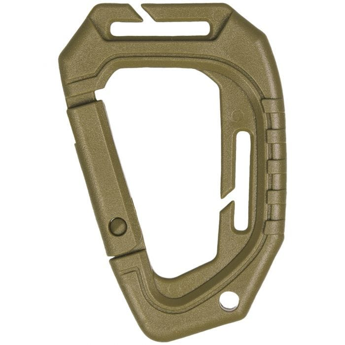 Mil-Tec Tactical Carabiner MOLLE Set of 2 Coyote