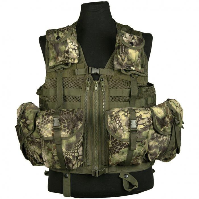 Mil-Tec Tactical Vest Modular System Mandra Wood