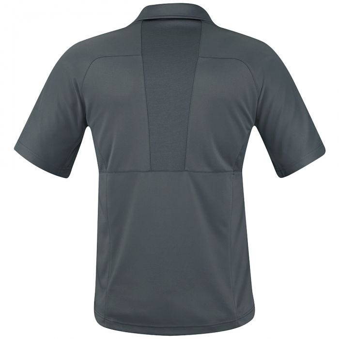 Propper Men's HLX Polo Short Sleeve Charcoal
