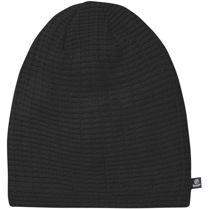 Brandit Beanie John Ajour Knitted Black