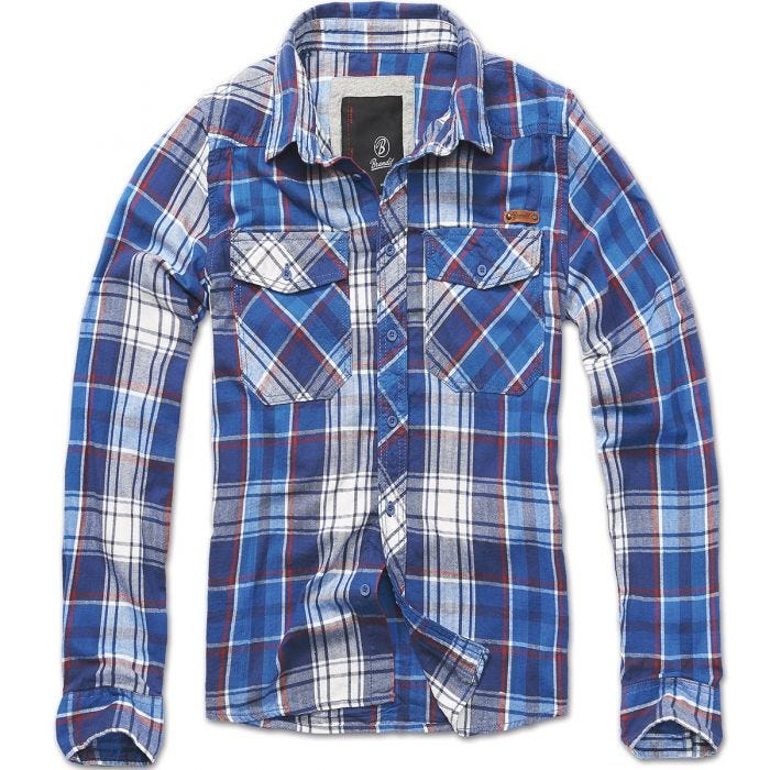 Brandit Check Shirt Navy