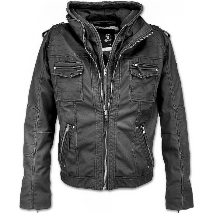 Brandit Black Rock Jacket Black