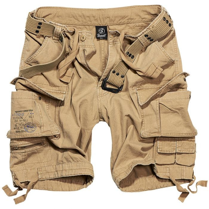 Brandit Savage Vintage Shorts Beige