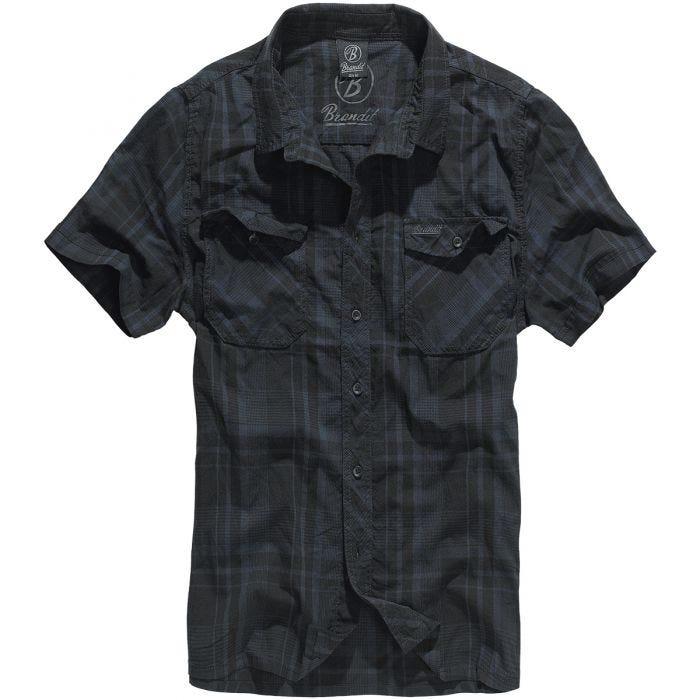 Brandit Roadstar Shirt Black / Blue