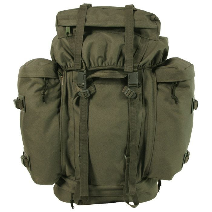 German Army Mountain Bergen 80L Olive