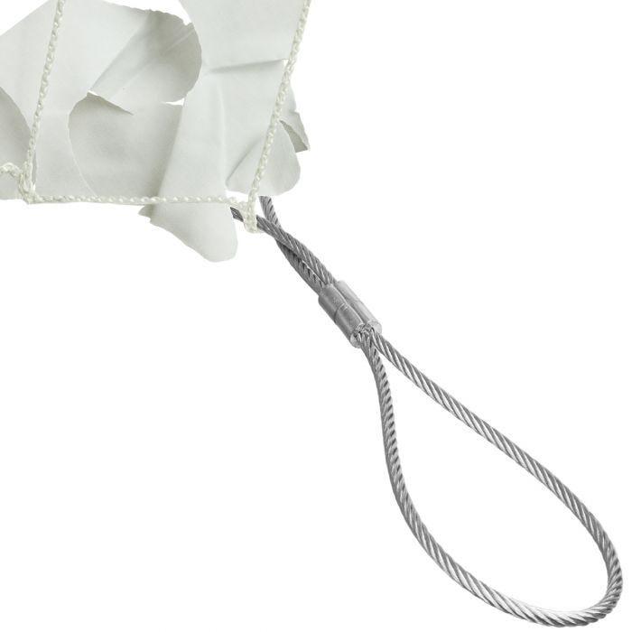 CamoSystems Shade Sail Net Broadleaf 4x5 White