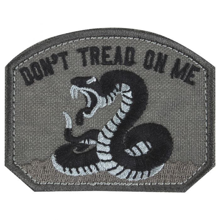 Condor Don't Tread On Me Patch Black