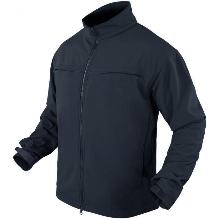 Condor Covert Soft Shell Jacket Navy Blue
