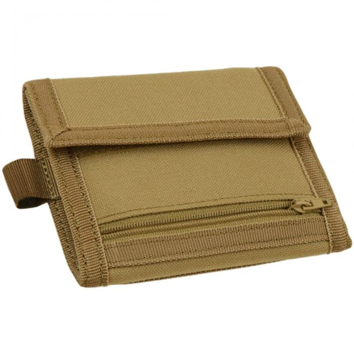 Condor VAULT Tri-fold Wallet Coyote Brown