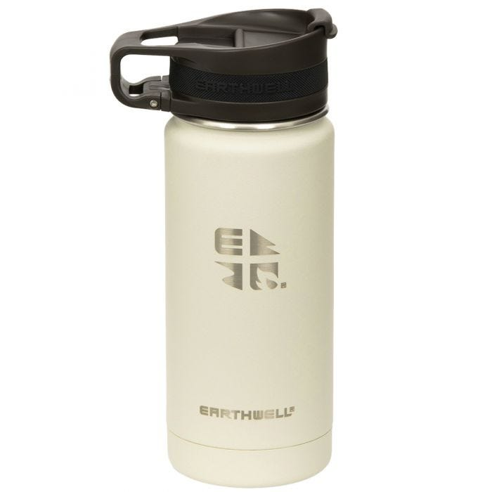 Earthwell Roaster Loop Vacuum Bottle 473ml Baja Sand