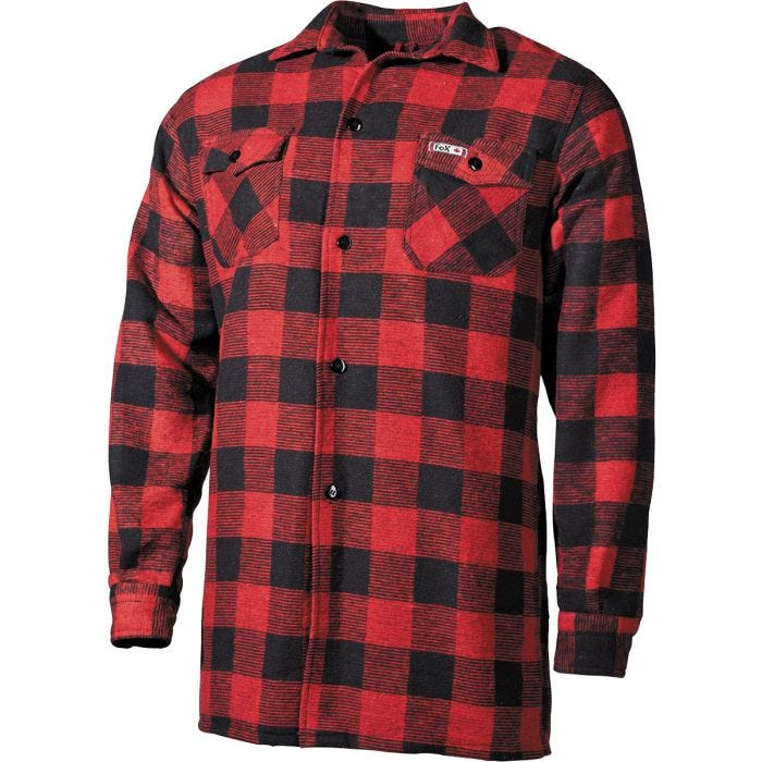 Fox Outdoor Lumberjack Shirt Red / Black Checkered
