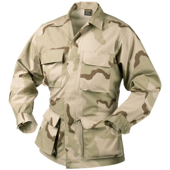 Helikon Genuine BDU Shirt Cotton Ripstop 3-Colour Desert