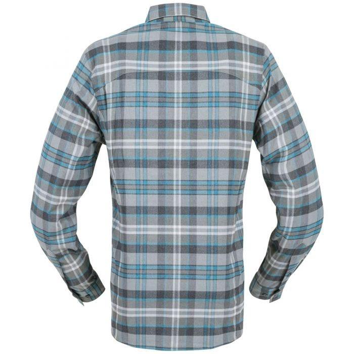 Helikon Defender Mk2 Pilgrim Long Sleeve Shirt Blue Plaid