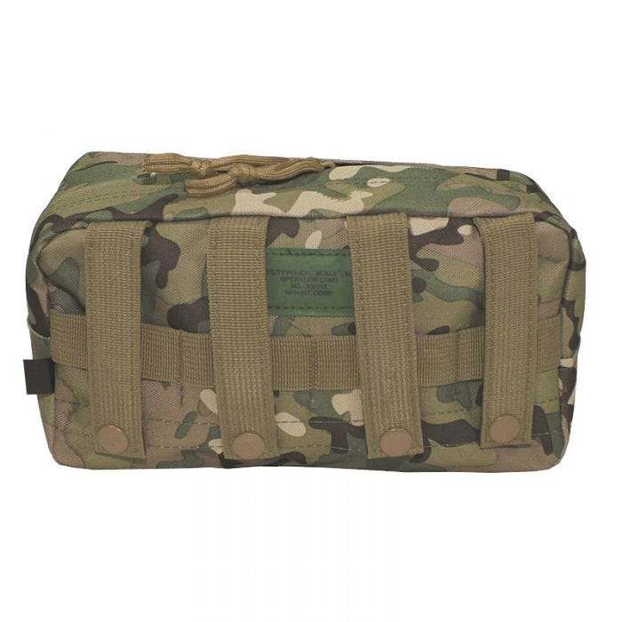 MFH Utility Pouch Large MOLLE Operation Camo