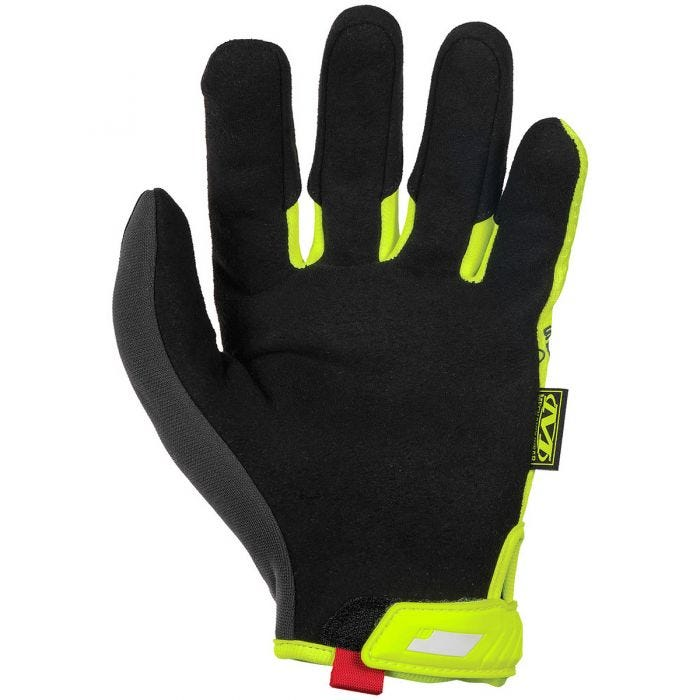 Mechanix Wear CR5 Original Gloves Hi-Viz Yellow Grey