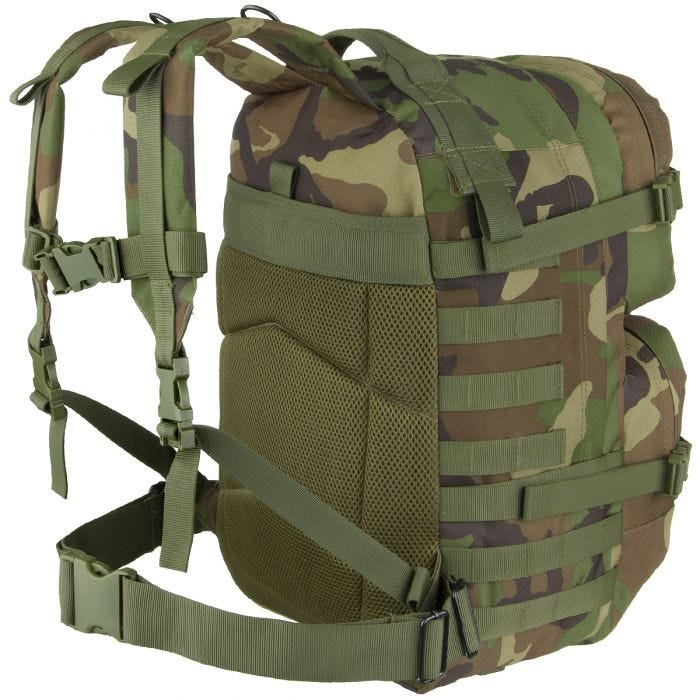 MFH Backpack Assault II Woodland