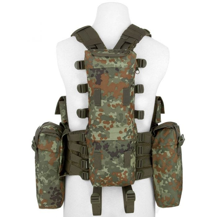 MFH South African Assault Vest Flecktarn