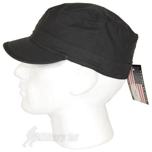 MFH BDU Ripstop Field Cap Black