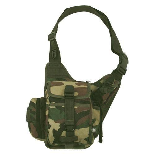 MFH Combat Shoulder Bag Woodland