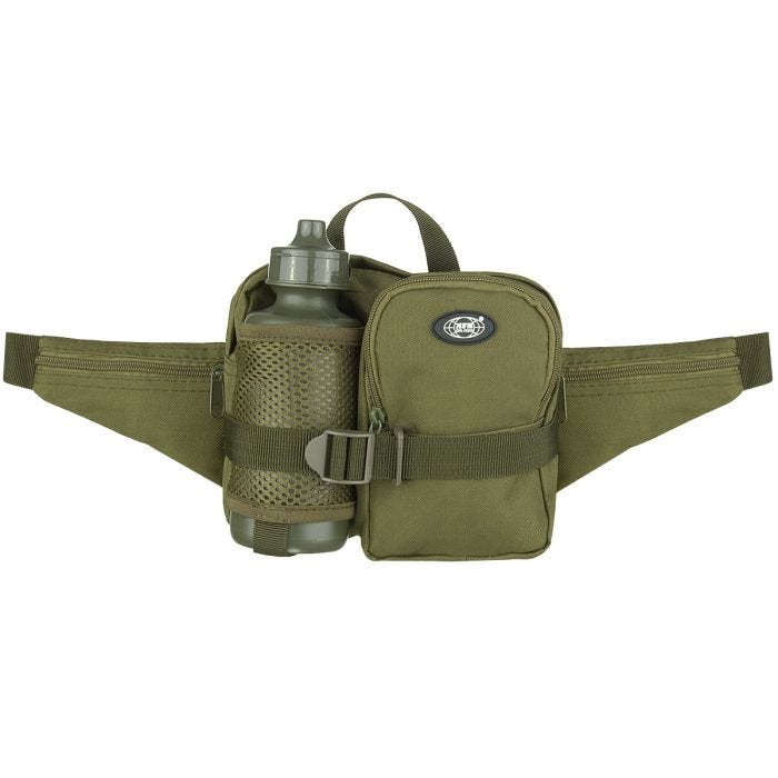 MFH Waist Bag with Bottle OD Green