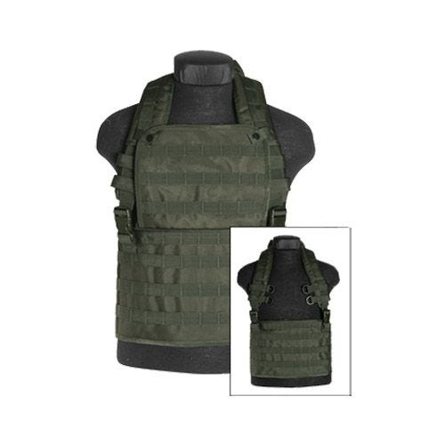 Mil-Tec Chest Rig MOLLE Olive