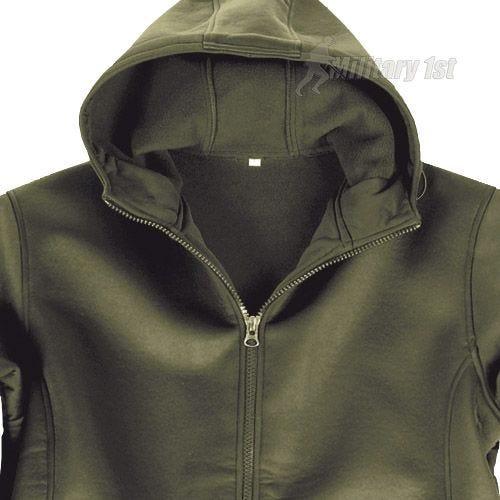 Mil-Tec Neoprene Jacket with Fleece Lining Olive
