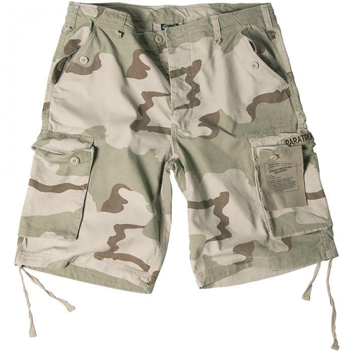 Paratrooper Cargo Shorts Prewashed 3-Colour Desert