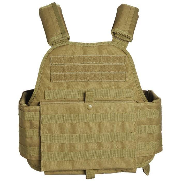 Mil-Tec Plate Carrier Vest Coyote