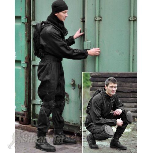 Mil-Tec SWAT Overall Black