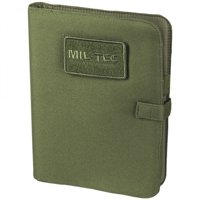 Mil-Tec Tactical Notebook Medium Olive