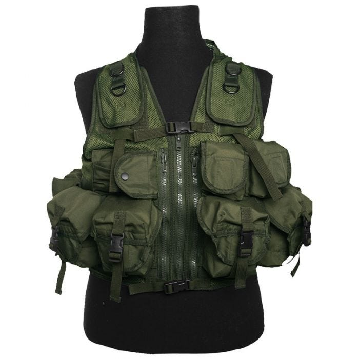 Mil-Tec Ultimate Assault Vest Olive