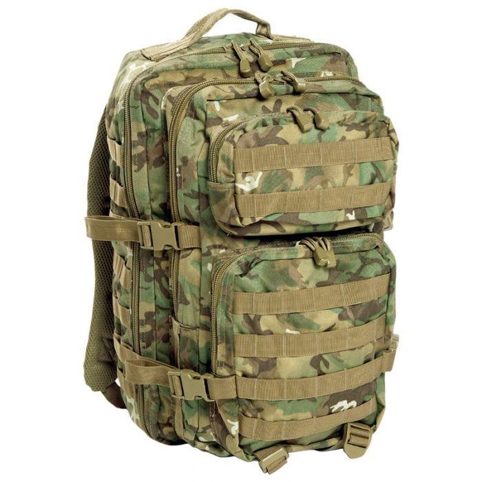 Mil-Tec MOLLE US Assault Pack Large Arid Woodland