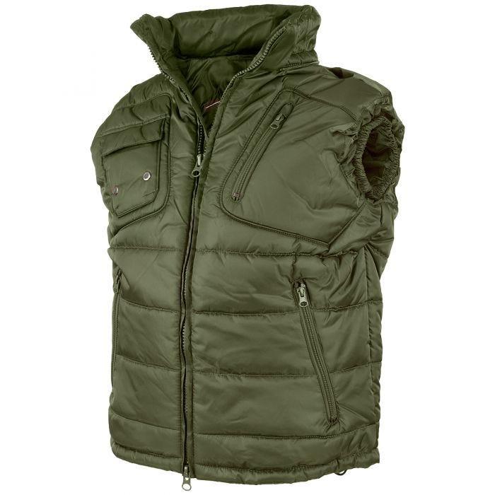 Mil-Tec Pro Vest with Detachable Hood Olive
