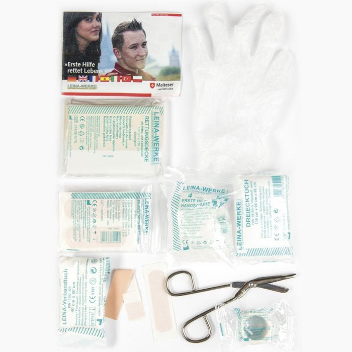 Mil-Tec Small Medical First Aid Kit Leina 25 Pieces Multitarn