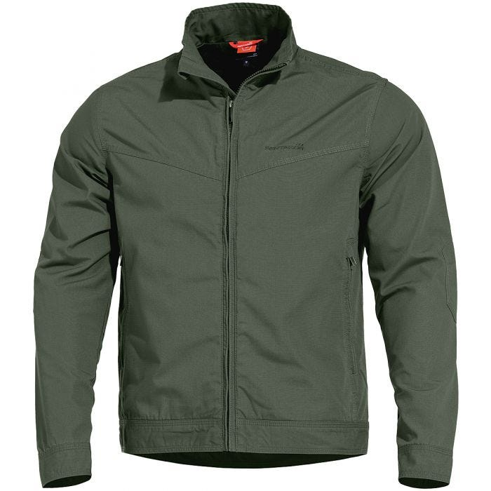 Pentagon Nostalgia Jacket Camo Green