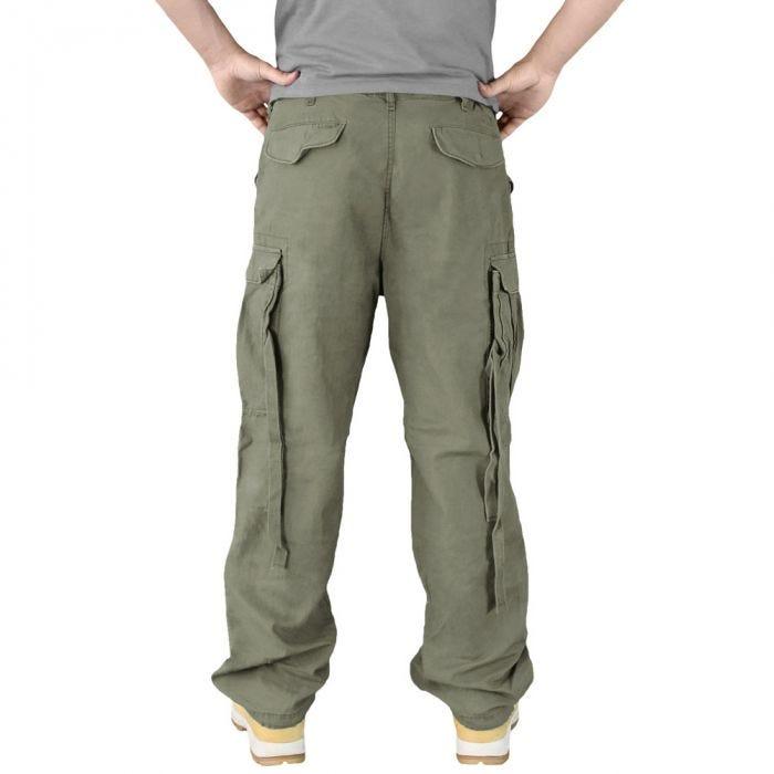 Surplus Vintage Fatigues Trousers Olive