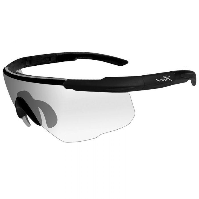 Wiley X Saber Advanced Glasses - Clear Lens / Matte Black Frame