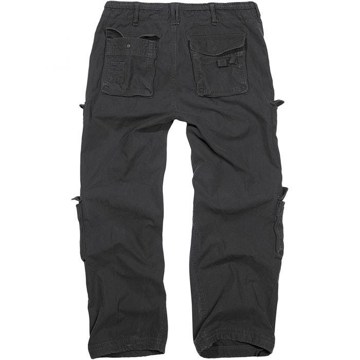 Brandit Pure Vintage Trousers Black