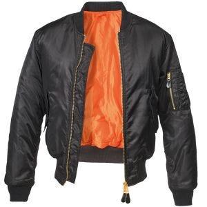 Brandit MA1 Jacket Black