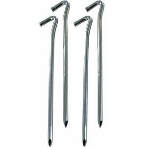 """Highlander 9"""" Heavy Duty Wire Steel Pegs 4 Pack"""
